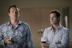 Famke Janssen Ava Moore   Julian McMahon as CHristian Troy and Dylan Walsh as Sean McNamara