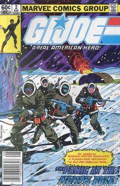 GI Joe (1982 Marvel) comic books