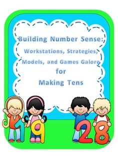 This is a comprehensive bundle of activities with everything you need to help the primary learner construct the developmental steps of making tens, thus building a foundation for number sense.  Over 175 pages full of games, activities, strategies, models and more: *With a wide variety to choose from, these activities will differentiate the needs of all ability groups in the primary grades.*Colorful mini-posters introduce Best Friends as numbers that join together to create a sum of ten.  ...