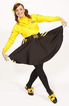 Wiggly woman: Emma Watkins' rise to yellow stardom Kids Dress Up Costumes, Cute Halloween Costumes, Halloween 2019, Diy Costumes, Costume Ideas, Wiggles Birthday, Wiggles Party, The Wiggles, Birthday Cake