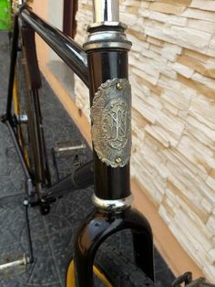 Bicycle headbadges vintage
