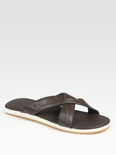 23c92d5e8f99e Lacoste - Chaumont Leather Sandals