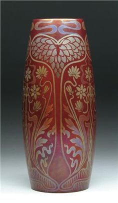 Zsolnay Secessionist Vase