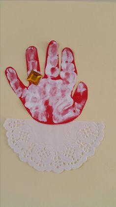 hand van Sinterklaas
