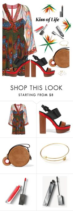 """""""Valentino Dress"""" by juliehooper ❤ liked on Polyvore featuring Valentino, Michael Kors, Carven, Burberry, dress, valentino and polyvoreeditorial"""