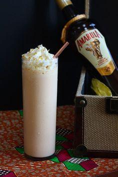 Amarula Milkshake: Amarula, bourbon, vanilla ice cream