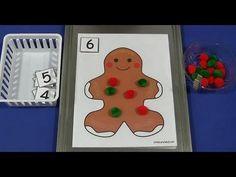 Gingerbread Math Mat