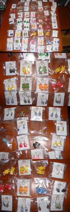 Other Wholesale Earrings 51015: Wholesale Lot Of Earrings Easter Bunny Shamrock Egg Chick -> BUY IT NOW ONLY: $59.99 on eBay!