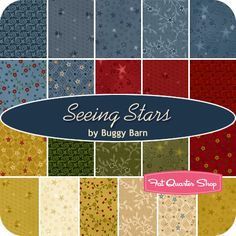 Seeing Stars Fat Quarter Bundle Buggy Barn for Henry Glass Fabrics