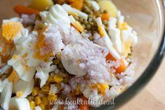 Goddelijke aardappelsalade - Keuken♥Liefde Grains, Rice, Pasta, Food, Essen, Meals, Seeds, Yemek, Laughter