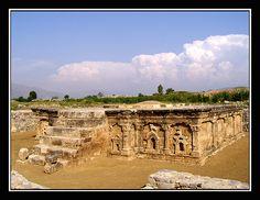 Temple of the twin headed Eagle   Sirkap Taxila, Pakistan.