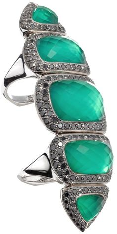 Forget me Knot Crystal Haze Armour Ring by Stephen Webster | LBV ♥✤ | KeepSmiling | BeStayElegant