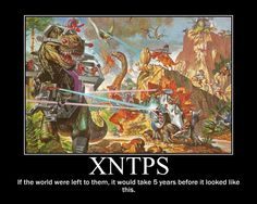 ENTP & INTP  That's right... giant reptiles with lasers. <---- That would be so cool!