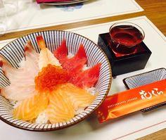 Hasta mañana  #Hanakura ofrece su menú de #TasteofJapan Restaurant Week kaisen Don con arroz sasanishiki y sake por 15.