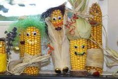 Bildergebnis für basteln mit Maiskolben
