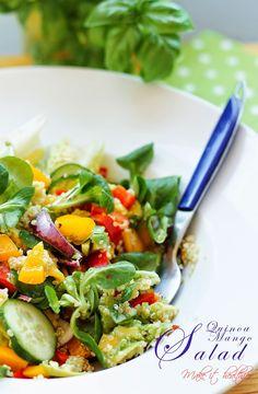 Make it healthier: Sałatka z komosą ryżową i mango / Quinoa Mango Sal...