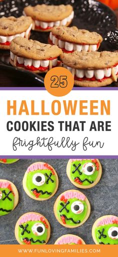 These Halloween cookies are the perfect mix of sweet and spooky are surprisingly easy to make. Make a batch for your own Halloween celebrations at home or for fun with friends. #halloweencookies #halloweenrecipes #halloween #halloweenactivities #halloweenideas #halloweenforkids #kidshalloween Fun Halloween Treats, Halloween Crafts For Kids, Kids Crafts, Halloween Party, Fall Cookie Recipes, Holiday Recipes, Holiday Ideas, Iced Sugar Cookies, Easy Chocolate Chip Cookies