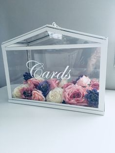 IKEA Socker Greenhouse Wishing Well - Cards Box