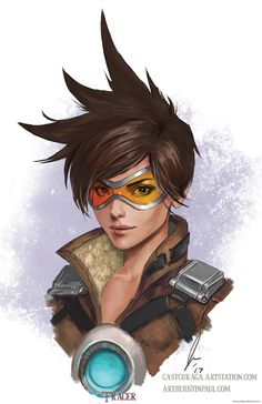 Tracer – Overwatch by Justin Paul