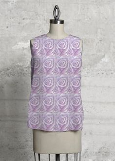 Purple Rose Top