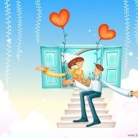 cute love cartoon wallpapers 1 200x200 Cute love cartoon wallpapers