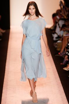 Pantone Colour Report Spring 2015 trends / aquamarine / how to wear aquamarine / outfit ideas / fashion collections S/S 2015 / BCBG Max Azria Spring 2015 / via fashioned by love british fashion blog