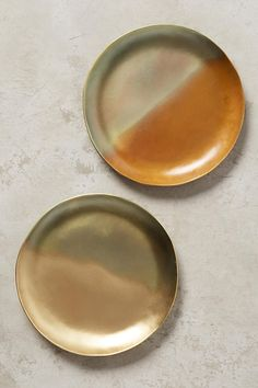 Slide View: 3: Oxidized Brass Coaster