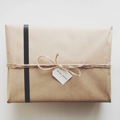 Brown paper packages tied up with string                                                                                                                                                                                 More