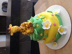 Sweet Giraffe Birthday cake.