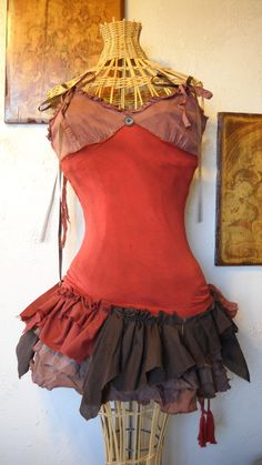 Scrap Skirt. Sally from Nightmare before x-mas??