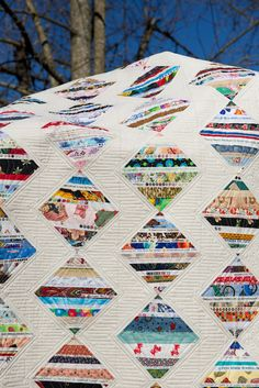 Mom's Selvage Quilt | Flickr - Photo Sharing!