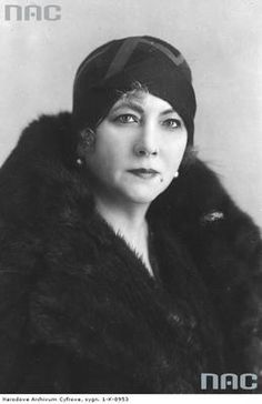 Rotter-Jarnińska Amelia Np 1935 - MANEWRY MIŁOSNE Obsada aktorska (ciotka Leonia),