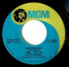 Lost hit from Mel Tillis. Just missed the top ten in 1972.
