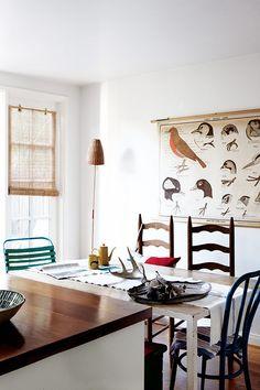 paul raeside, LA, interiors, photographer, caitlin wylde - want that bird wall hanging.... !!!