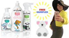 Hi Everyone, Today, I am going to show you baby freebies that I got from Attitude Living. You can register to get a free trial online and only need to pay th. Baby Freebies, Free Samples, Drink Bottles, Attitude, Pregnancy, Pregnancy Planning Resources