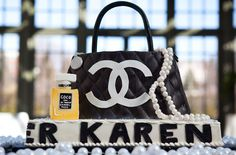 Coco Chanel cake Inspired Bridal Shower