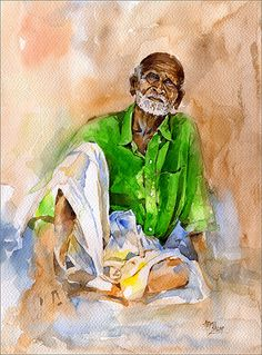 Hope..... - Watercolor by Abdul salim - Artist / Illustrator, via Flickr