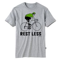 howies - Rest Less Sprinter - t-shirts - Mens Products - mens