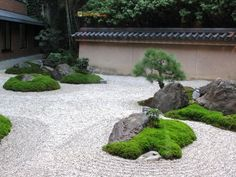 With water, rocks as well as lawn elements you can produce your own contemporary Japanese garden in your minimalist residence. Right here are 8 sample styles as recommendation product for you. Zen Garden Design, Japanese Garden Design, Landscape Design, Japanese Rock Garden, Temple Gardens, Japan Garden, Design Jardin, Low Maintenance Garden, Garden Care