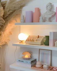Room Ideas Bedroom, Bedroom Decor, Bedroom Inspo, Bedroom Wall, Room Ideias, Pastel Room, Pastel Decor, Cute Room Decor, Pretty Room
