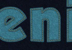 Create a Stitched Denim Text Effect in Photoshop by Rose, In this tutorial, we will explain how to combine Photoshop filters, brushes, and vector shapes to create a stitched denim text effect using Photoshop CS6....
