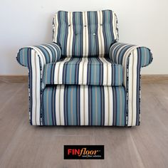 FinOak Pre-finished colour Tsitsikama. Vinyl Wood Flooring, Wood Vinyl, Solid Wood, Armchair, Colour, Furniture, Home Decor, Sofa Chair, Color