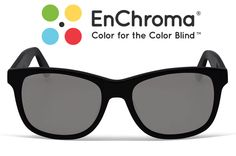 EnChroma: Restores color sight in people with color blindness. I have mild Red-green color blindness so I would like to give these a whirl.