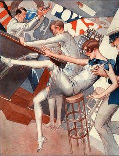 La Vie Parisienne 1923 ~ Vald 'Es