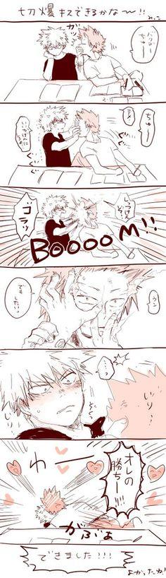 Boku no Hero Academia || Katsuki Bakugou, Kirishima Eijirou.