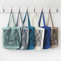 Image of Nara Printed Shopper in 7 colour options