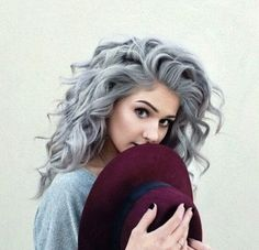 Elegant Hair Dye Colors for Dying White Hair in 2018, Hair typically turns white as a person ages. The reason is that the melanin pigment supply in the follicles reduces. At what time and to what degree the hair of a person will become shades of gray, silver/ white varies and could be dependent on genetics. Just as individuals are frequently born with the hair color of their parents, they could also inherit their patterns of graying., Hair Colour