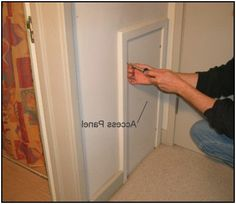 How To Build An Access Door Inspiration For My Home