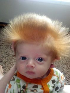 own personal Chia pet. 3 months old. Cute Little Baby, Baby Kind, Little Babies, Baby Love, Funny Babies, Funny Kids, Cute Kids, Cute Babies, Precious Children