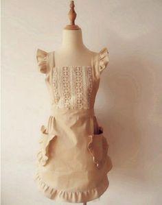 Amazon|(ミワトモ)MIWATOMO かわいい フリル レース 高級 エプロン おしゃれ 上品 結婚お祝い 女性用 母の日 ギフト…